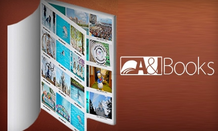 """A&I Books : $10 for an 8""""x8"""" Soft Cover Photo Book from A&I Books ($30 Value)"""