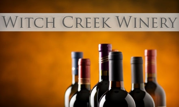 Witch Creek Winery - Multiple Locations: $15 for $35 Worth of Wine and Wine Tastings at Witch Creek Winery