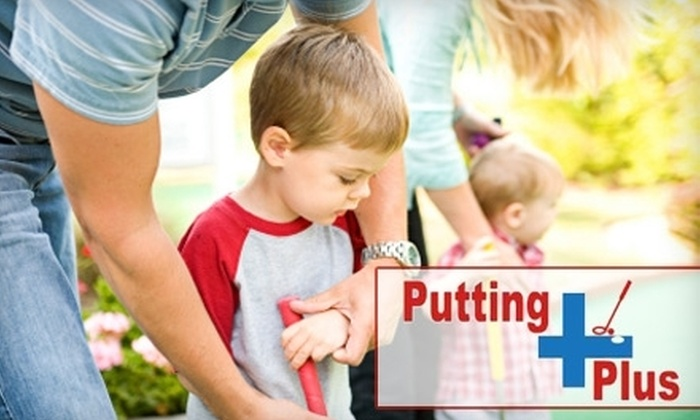 Putting Plus - North Central Omaha: $10 for $20 Worth of Miniature Golf or Jump Shot Basketball at Putting Plus