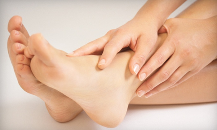 Forever Young - Mid-City West: $199 for a PinPointe FootLaser Nail-Fungus Treatment for Both Feet at Forever Young ($500 Value)