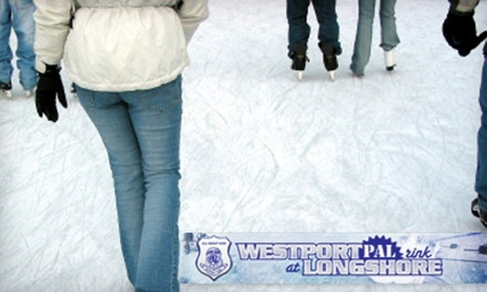 Westport PAL Rink - Westport: $15 for Two Admissions and Two Skate Rentals at Westport PAL Rink ($30 Value)