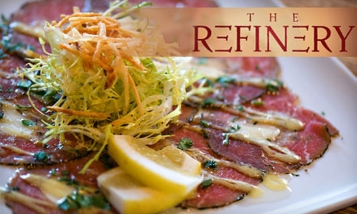The Refinery Vancouver - Vancouver: $12 for $25 Worth of New-World Cuisine and Cocktails at The Refinery Vancouver