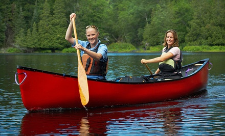 6-Mile Tandem Canoe Trip (a $60 value) - Canoe the Caney in Silver Point