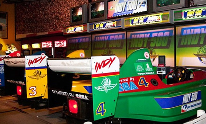 GameRoom - Sawgrass Mills: $21 for Pair of Two-Hour Passes for Video and Interactive Games at GameRoom in Sunrise (Up to $46.40 Value)