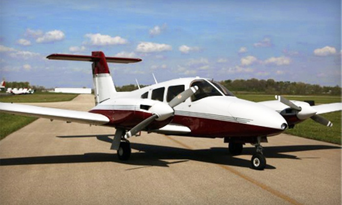 Middletown Regional Flight Training Institute - Middletown: $57 for a Discovery Flight Package from Middletown Regional Flight Training Institute ($113 Value)