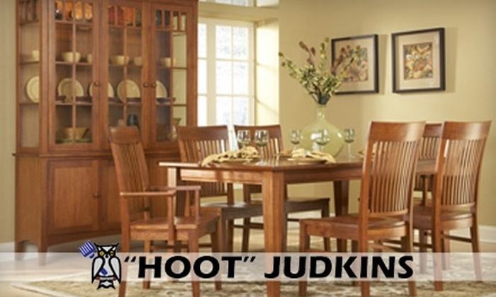 """""""Hoot"""" Judkins Furniture - Multiple Locations: $75 for $200 Worth of Wood and Bamboo Furniture at """"Hoot"""" Judkins Furniture"""