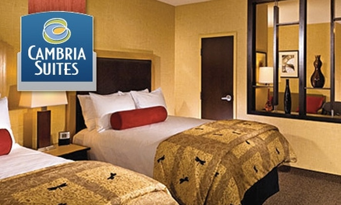 Cambria Suites - Central Oklahoma City: $69 for a King or Double Suite and $20 Food Voucher at Cambria Suites ($149 Value)