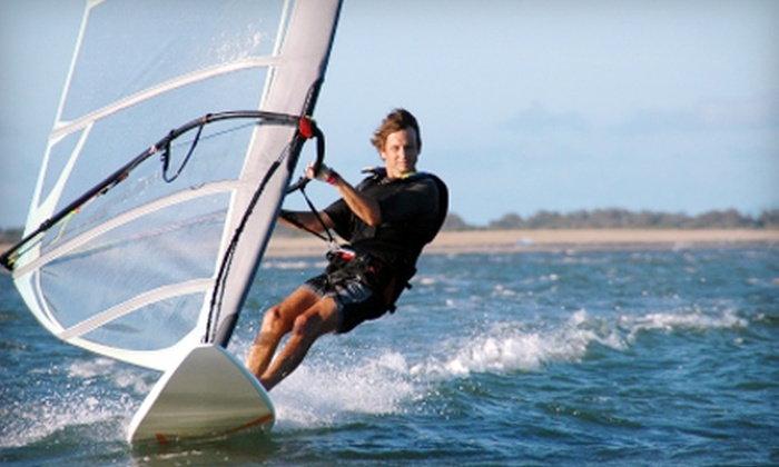 Windsure Adventure Watersports - West Point Grey: $40 for Group Windsurfing Lesson at Windsure Adventure Watersports ($80 Value)