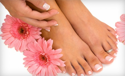 Organic Spatopia Manicure (an $18 value) and an Organic Spatopia Pedicure (a $37 value; a $55 total value) - Organic Spatopia in Houston