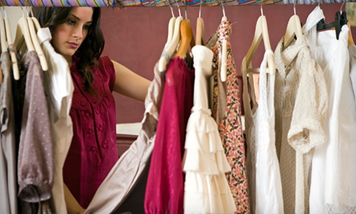 Classy Closet - Historic Old Northeast: $25 for $50 Worth of Designer Women's Clothing and Accessories at Classy Closet in St. Petersburg