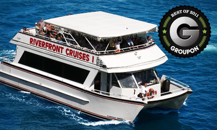 Riverfront Cruises - Downtown Fort Lauderdale: $22 for a Sightseeing Cruise for Two from Riverfront Cruises (Up to $44 Value)