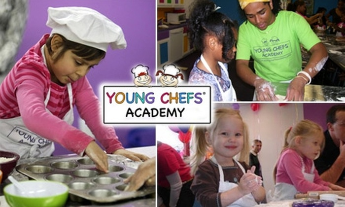 Young Chefs Academy - Mason: $15 for One Cooking Class at Young Chefs Academy
