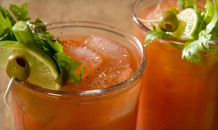 Funhouse Lounge - Hosford - Abernethy: $16 for Sunday Brunch with Entrees and Drinks for Two at Funhouse Lounge ($32 Value). Three Options Available.