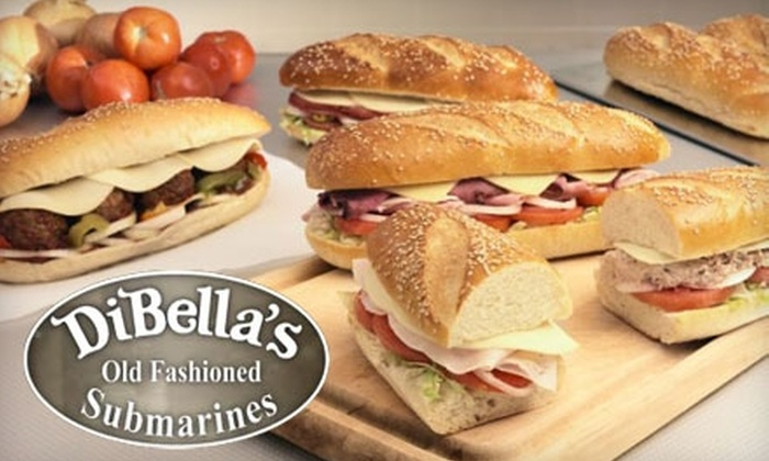 Dibella's Old Fashioned Submarines - Multiple Locations: $4 for $8 Worth of Italian Subs and More at DiBella's Old Fashioned Submarines