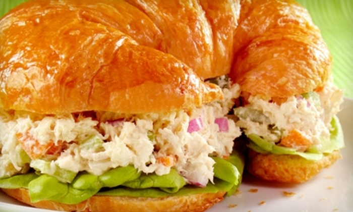 Harvest Thyme Cafe - Pleasant Street: $7 for $15 Worth of Fresh Sandwiches, Soups, and More at Harvest Thyme Cafe