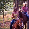 Trail Ride for One, Romantic Couples Ride, or Family Ride