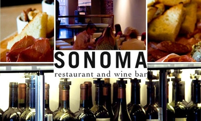 Sonoma Restaurant and Wine Bar - Capitol Hill: $15 for $30 Worth of Wine and Sustainable Cuisine at Sonoma Restaurant and Wine Bar