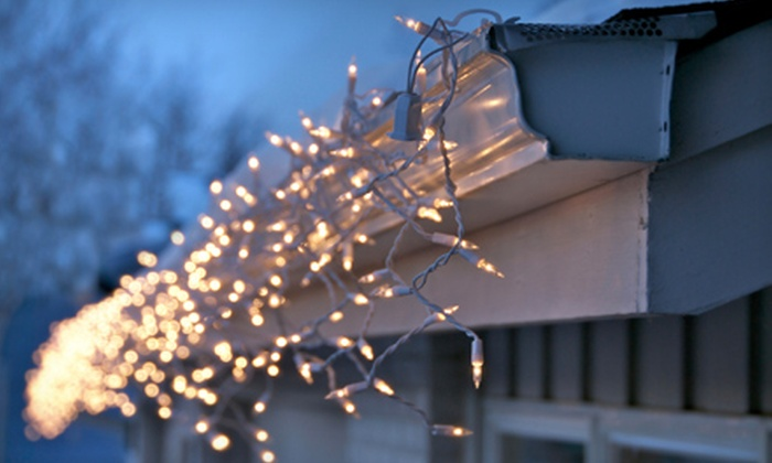 Eurobella - Atlanta: Christmas-Light Installation and Removal from Eurobella (Up to 60% Off). Three Options Available.