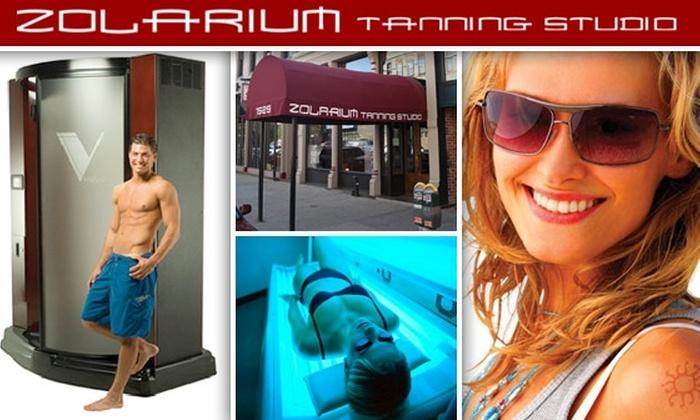 Zolarium - LoDo: $50 for Four Tanning Bed or Spray Tan Sessions at Zolarium