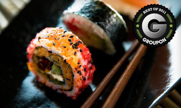 Tokyo Japanese Steakhouse & Sushi Bar - Salt Lake City: $10 for $20 Worth of Japanese Fare at Tokyo Japanese Steakhouse & Sushi Bar in Lehi