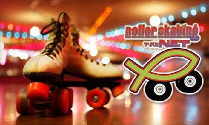Rollerskating The Net - Fort Myers: $9 for Admission, Skate or Blade Rental, and Choice of Combo Meal at Rollerskating The Net (Up to $18 Value)
