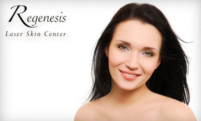 Regenesis Laser Skin Center - Olde Orchard: $62 for Superficial Illuminize Chemical Peel at Regenesis Laser Skin Center