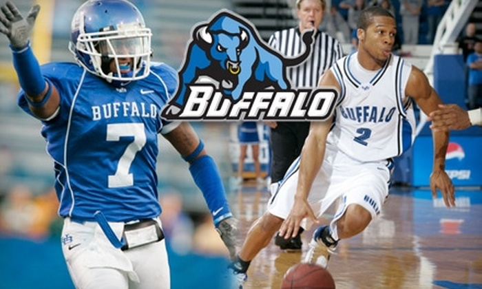 University at Buffalo - Amherst: $25 for a Buffalo Bulls Football and Basketball Ticket Package (Up to $66 Value)