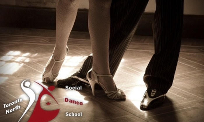 Toronto Social Dance School - Thornhill: $30 for 15 Group Dance Classes at Toronto Social Dance School in Thornhill ($150 Value)