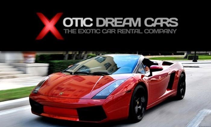 450 For A 24 Hour Lamborghini Murcielago Rental With Xotic Dream