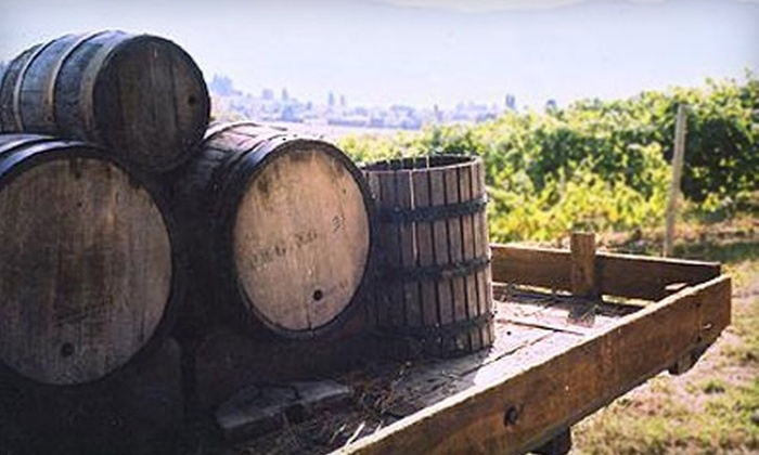 Okanagan Wine Country Tours - Central City: $135 for Two Passes to the A Day on Naramata Bench Tour from Okanagan Wine Country Tours ($270 Value)