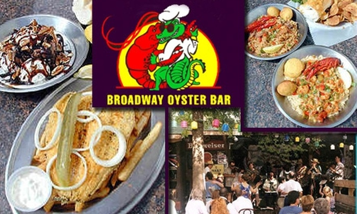 Broadway Oyster Bar - Downtown St. Louis: $12 for $30 Worth of Cajun and Creole Fare and Drinks at Broadway Oyster Bar