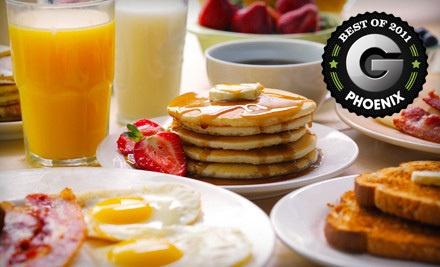 Breakfast or Lunch for Four - The Breakfast Joynt in Scottsdale