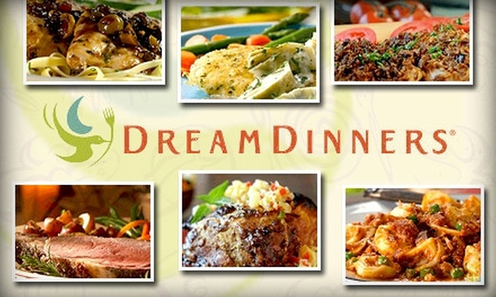 Dream Dinners - San Jose: $49 for Six Three-Serving, Easy-to-Assemble, At-Home Meals from Dream Dinners (Up to $120 Value)