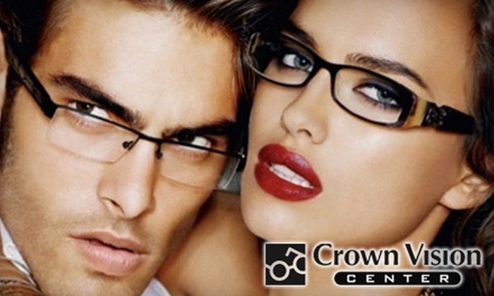 Crown Vision Center - Multiple Locations: $50 for $175 Worth of Frames and Lenses at Crown Vision Center