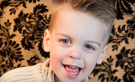 Hunky Monkey Haircut with Style for Boys - Spoiled Rockin Kidz Salon in Huntsville