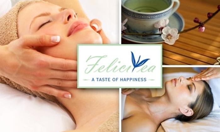 Felicitea - Optimist Park: $40 for an Hour-Long Swedish Massage Including a Tea Wrap and Cup of Tea at Felicitea