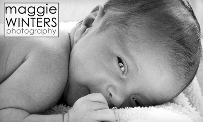 Maggie Winters Photography - Multiple Locations: $60 for a One-Hour Photo Session, Plus a Picture CD with 10 Images from Maggie Winters Photography ($175 Value)