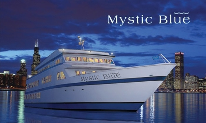 Mystic Blue Cruises  - Near North Side: $40 for Either the Lake Breeze or Saturday Twilight Dinner Cruise from Mystic Blue Cruises