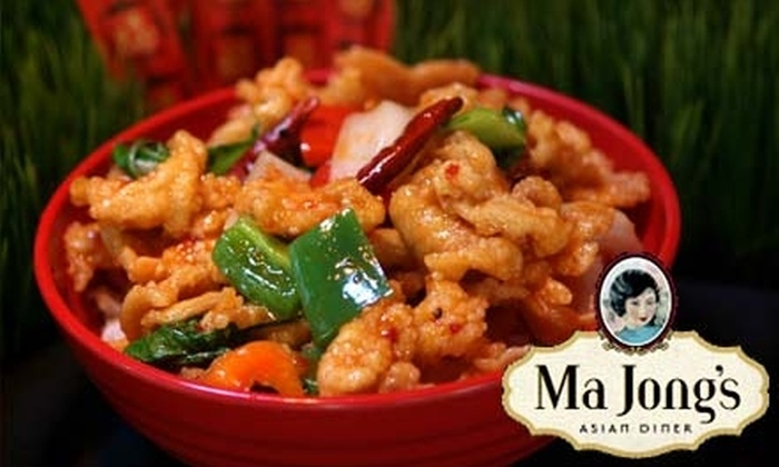 Ma Jong's Asian Diner - Downtown: $10 for $20 Worth of Pan-Asian Cuisine at Ma Jong's Asian Diner