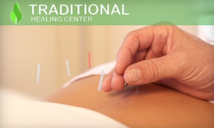 Traditional Healing Centre - Multiple Locations: $150 for Initial Diagnosis and Five Private Acupuncture Treatments at Traditional Healing Centre ($465 Value)