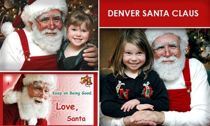 Santa Claus and Company (Denver) - Denver: $125 for a Personal Visit from Santa Claus Any Day of the Week ($225 Value)