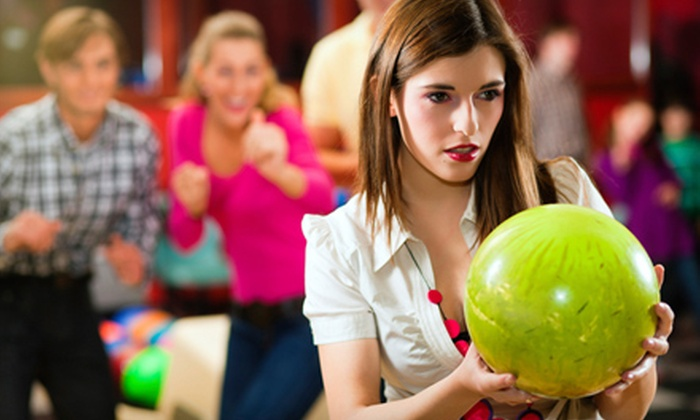 Derby Family Entertainment Center - Rockford: Three Games of Bowling with Shoe Rental for Two, Up to Four, or Up to Eight at Derby Family Entertainment Center (Up to 57% Off)