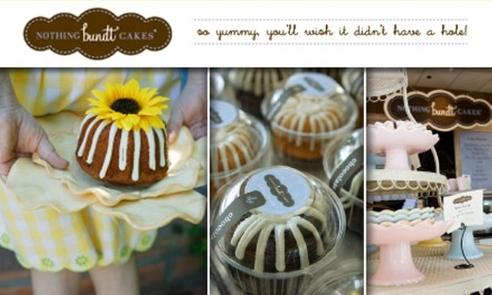Nothing Bundt Cakes Groupon