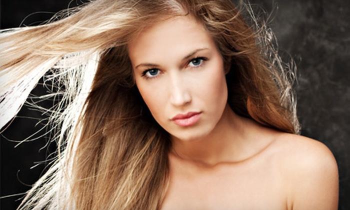 Emergia Hair Group - Edmonton: $149 for a Chi Enviro Keratin Hair-Smoothing Treatment at Emergia Hair Group ($367.50 Value)