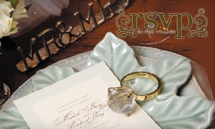 RSVP in the Village - Prairie Village: $15 for $30 Worth of Invitations, Stationery, Gifts, and More at RSVP in the Village