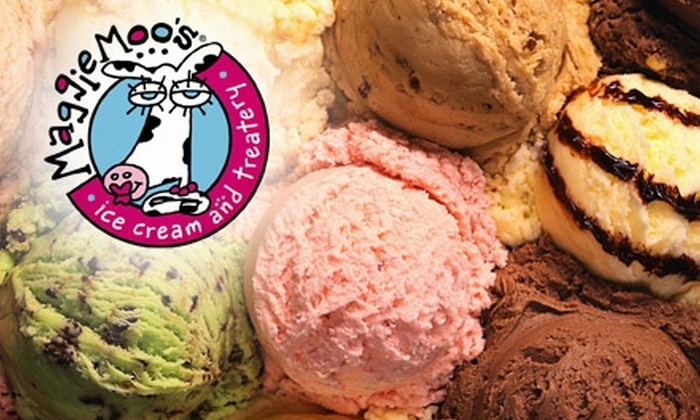 Maggie Moo's Ice Cream and Treatery - Multiple Locations: $5 for $10 Worth of Desserts at Maggie Moo's Ice Cream and Treatery