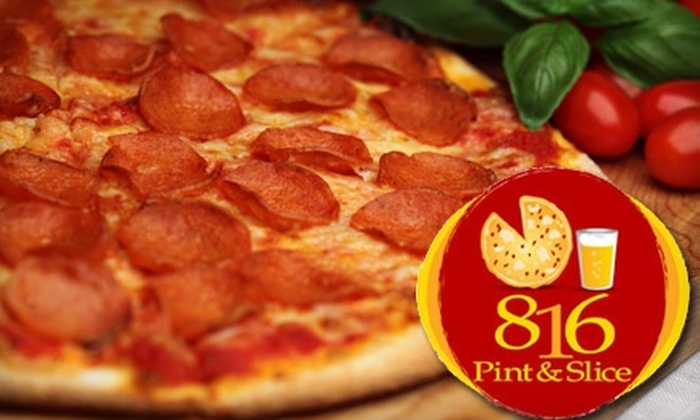 816 Pint and Slice - Downtown Fort Wayne: $5 for $10 Worth of Pizza and Pints at 816 Pint and Slice