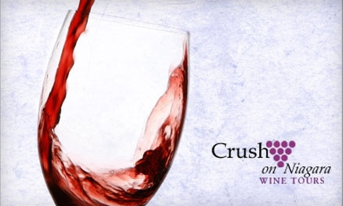 Crush on Niagara Wine Tours - Niagara-On-The-Lake: $45 for a Wine Tour and Guidebook from Crush on Niagara Wine Tours