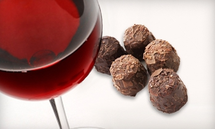 Ott & Murphy Wines - Seattle: $13 for Two Flights of Wine and Two Custom Chocolate Truffles at Ott & Murphy Wines in Langley ($28 Value)