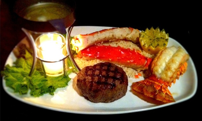 Rusty's Steakhouse and Sports Lounge - Central City: $15 for $30 Worth of Steakhouse Fare and Drinks at Rusty's Steakhouse and Sports Lounge